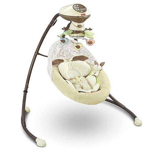 Snugabunny swing on top 5 must have newborn items.