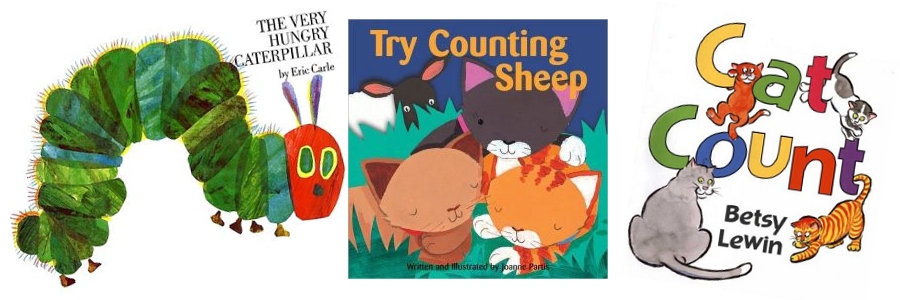 Tot School Themes: Numbers Week Books