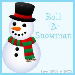 Roll-A-Snowman