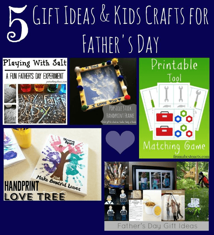 Father's Day Crafts and Activities for Kids