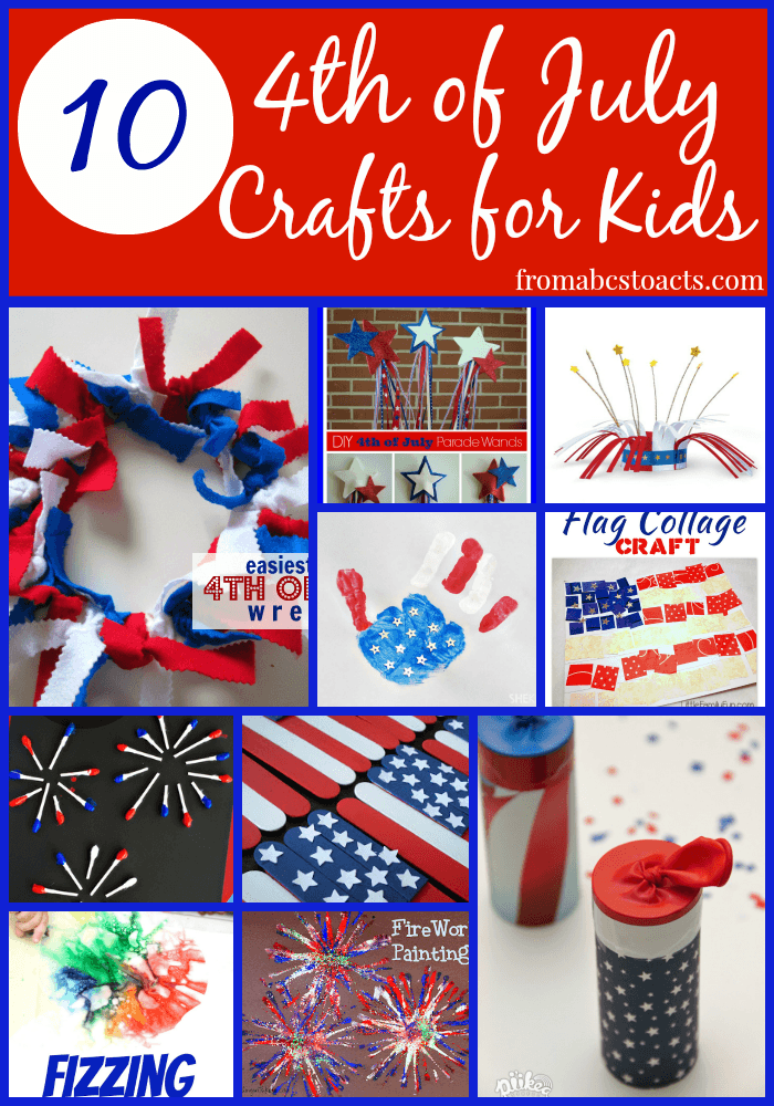 10 Fun and Easy 4th of July Crafts for Kids