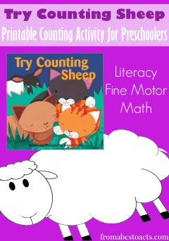 Try Counting Sheep Counting Activity for Preschoolers