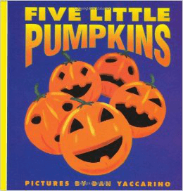 Five Little Pumpkins by Dan Yaccarino