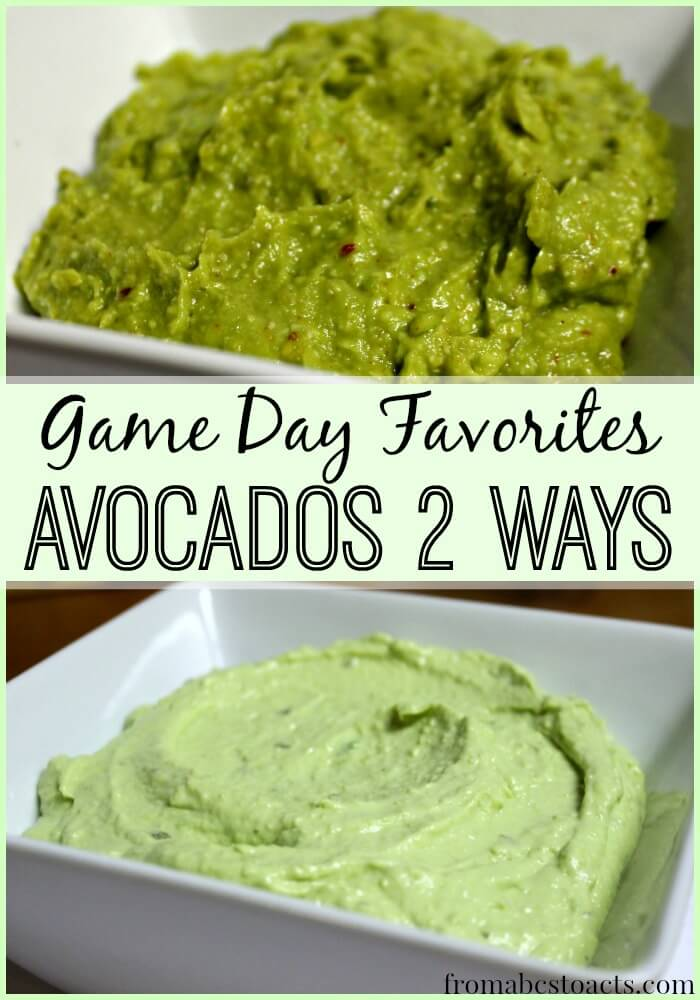 Avocado Recipes for Game Day
