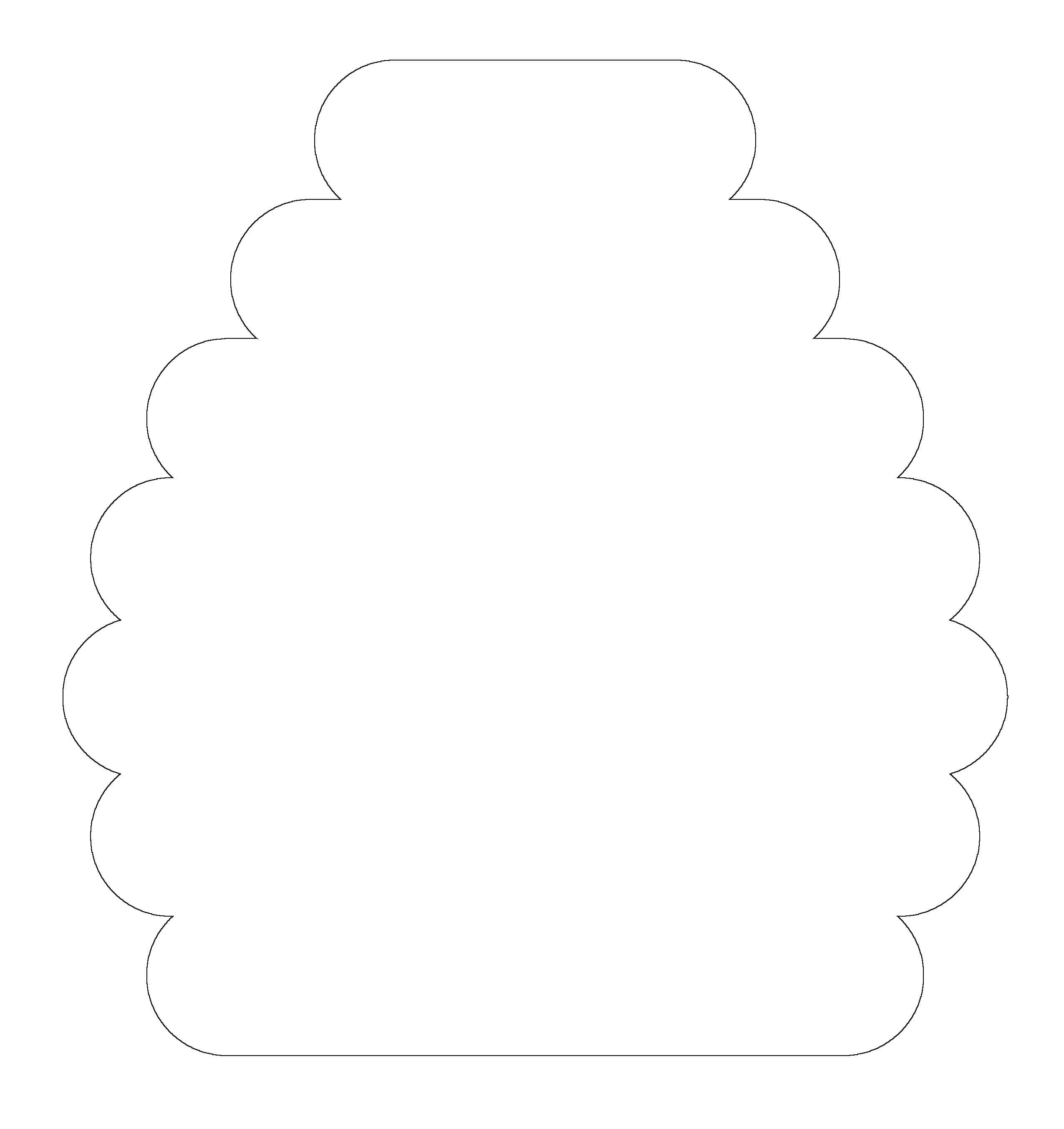 printable bee hive template