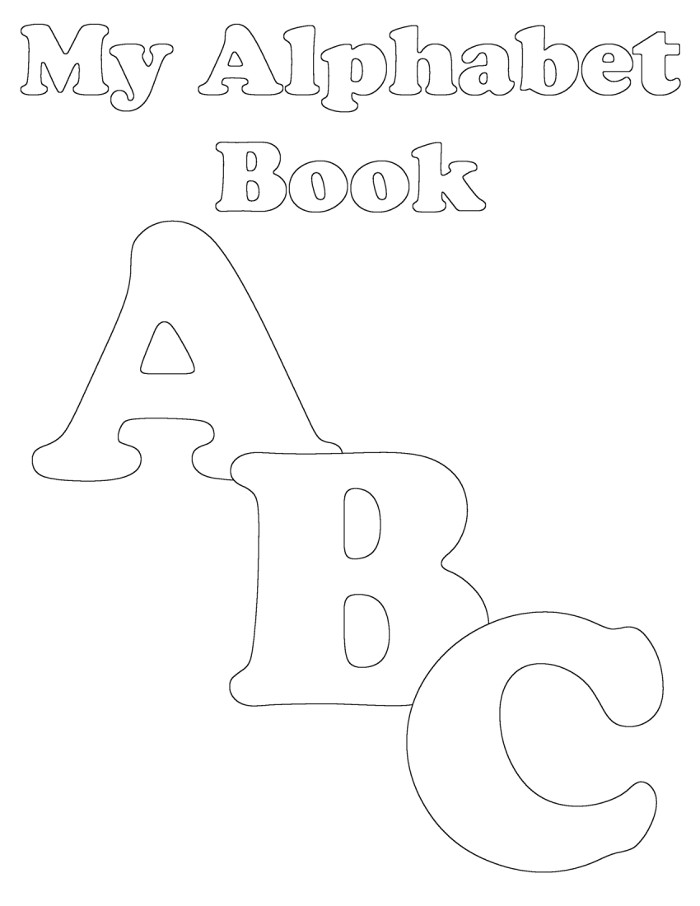 picture relating to Alphabet Book Printable called Preschool Alphabet E book: Uppercase A Towards ABCs toward Functions