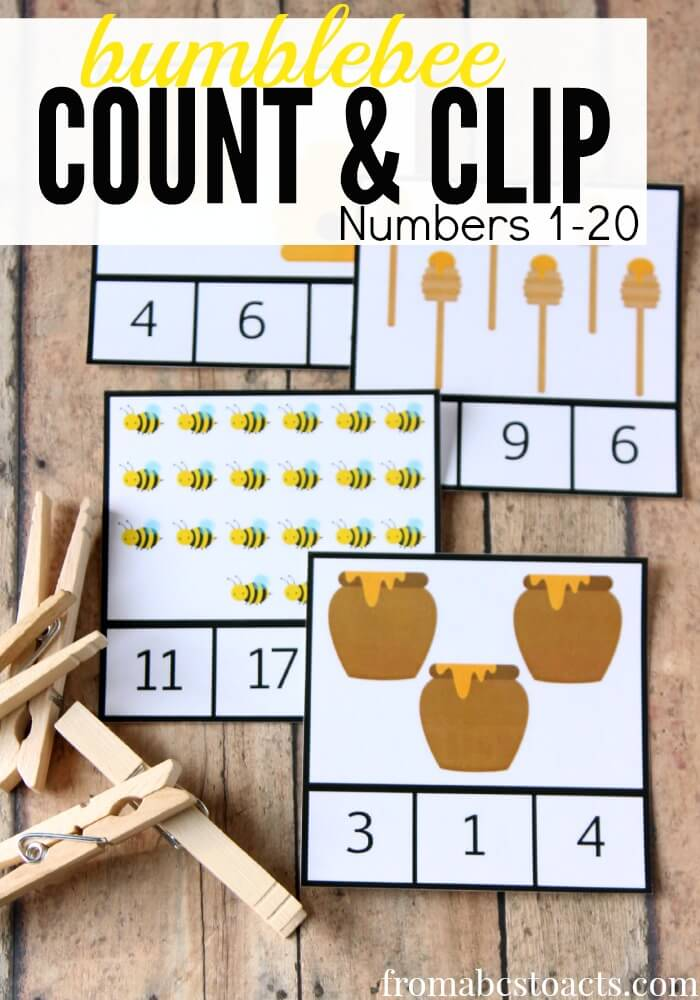 bumblebee count and clip