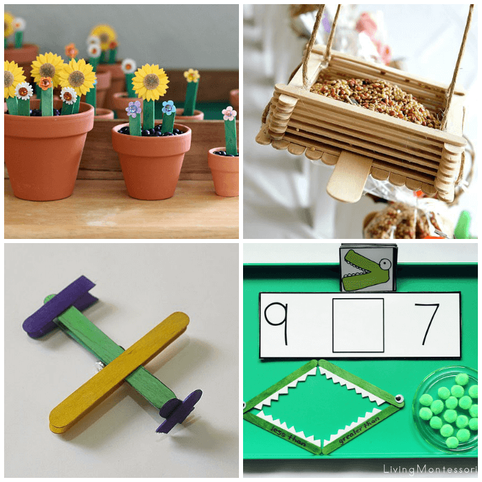 30 popsicle stick crafts for kids from abcs to acts crafts for kids using popsicle sticks ccuart Image collections