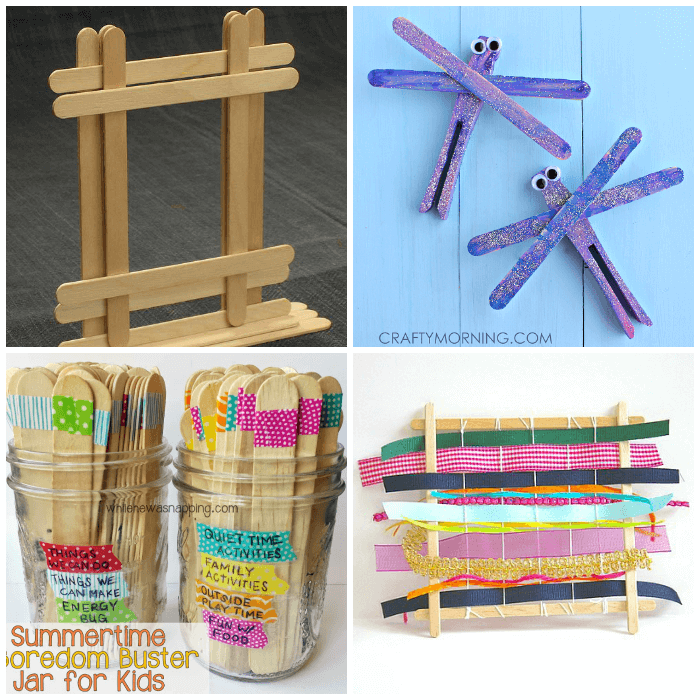 30 popsicle stick crafts for kids from abcs to acts crafts made using popsicle sticks ccuart Image collections