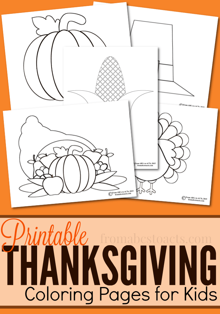 Grab Some Crayons And These Free Printable Thanksgiving Coloring Pages Keep The Kids Entertained While