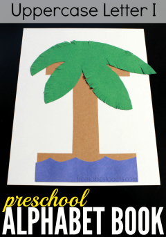 build your own letter i island with your preschooler and make it your newest addition to