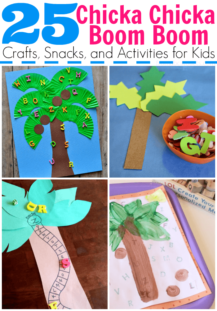 Coconut Tree Craft For Preschoolers