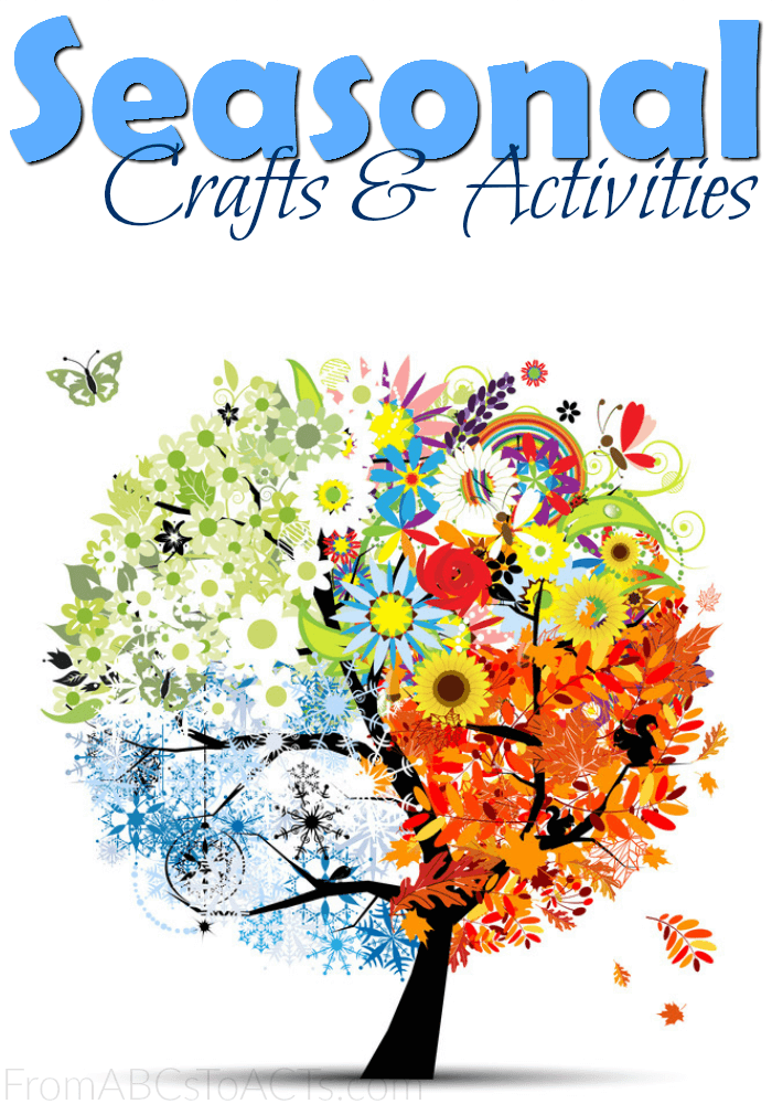 Seasonal Crafts and Activities for Kids on From ABCs to ACTs