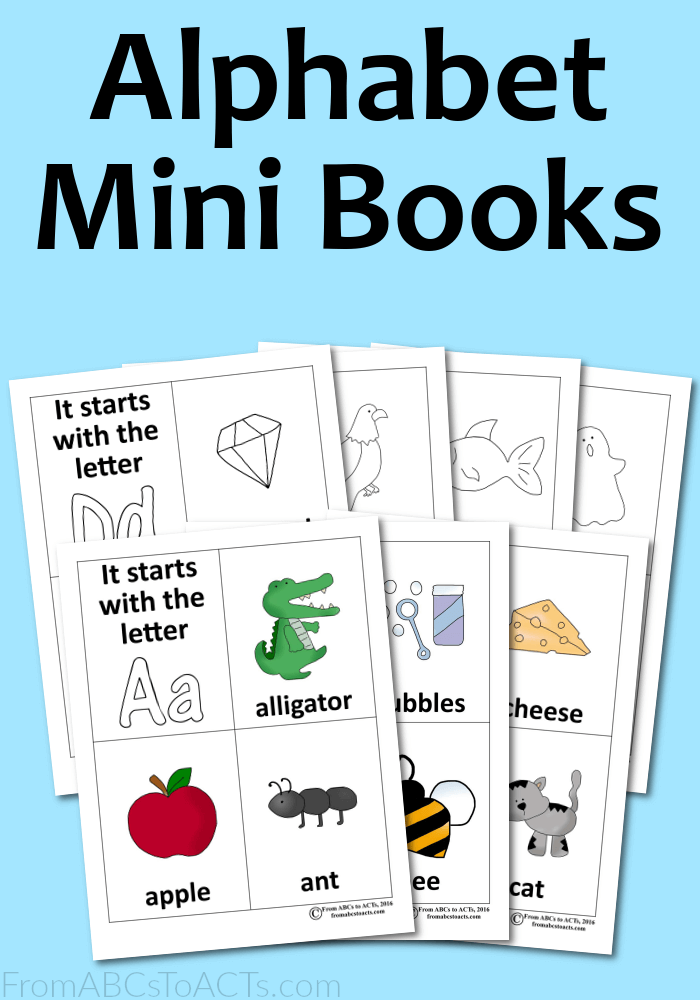 It is a graphic of Invaluable Mini Books Printable
