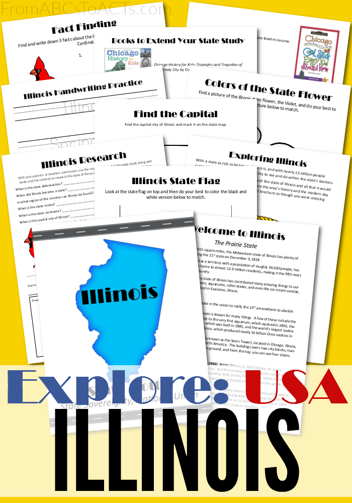 From skyscrapers to aquariums, a lot of firsts for the U.S. have come out of Illinois! Grab this free printable state study to learn all about them!