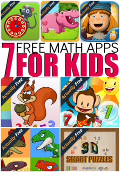 Working on or refreshing your child's math skills? These 7 free math apps for kids are actually completely free and can help them develop the necessary early math skills to help them throughout their educational career! #AmznUnderground #ad
