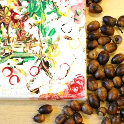 Acorn Painting for Kids