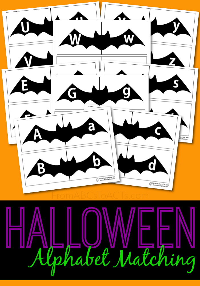 Printable Halloween Alphabet Puzzles | From ABCs to ACTs