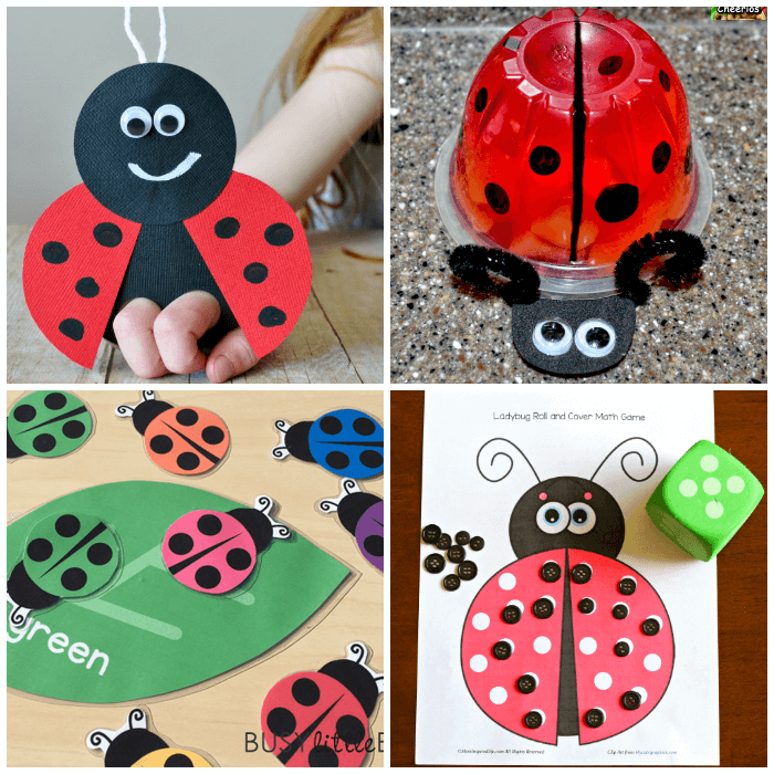 Spring Preschool Activities Ladybug Crafts