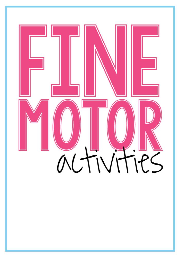 Fine Motor Blue Line