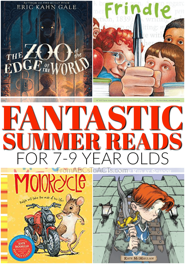 Spark your child's love of reading this Summer with this fantastic list of Summer reads for 7-9 year olds!