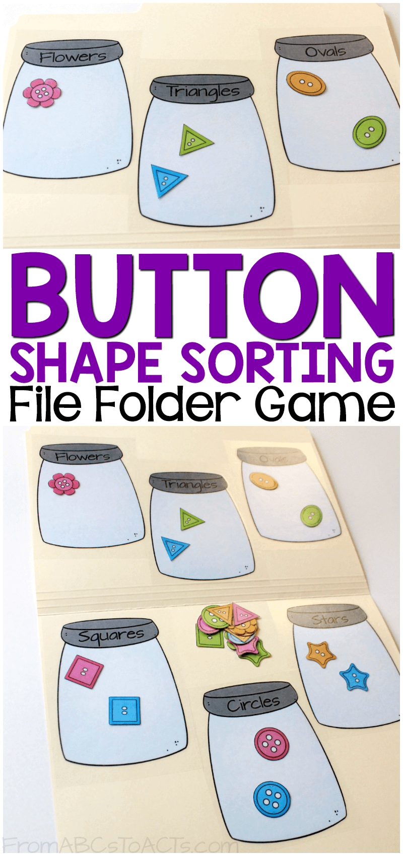 It is a graphic of Clever Printable File Folder Game