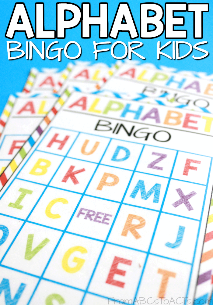 Free Printable Alphabet Games For Preschoolers