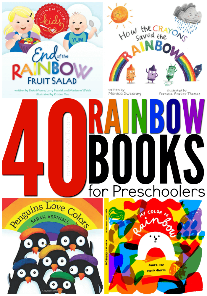 Rainbow Books for Preschoolers
