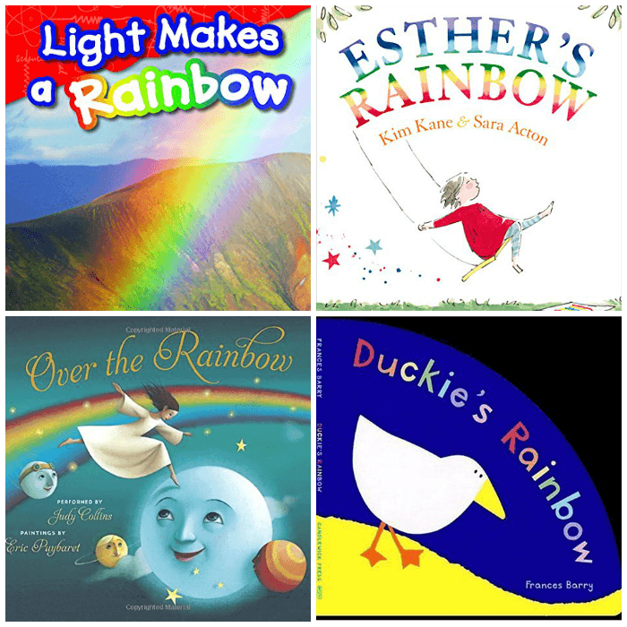 Reading about Rainbows with Young Children