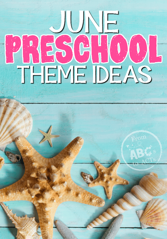 Fishing, camping, and so much more! These June preschool themes are going to keep your little ones learning all month long!