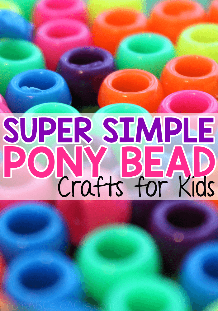 picture relating to Pony Bead Patterns Free Printable known as Tremendous Straightforward Pony Bead Crafts for Small children In opposition to ABCs toward Functions
