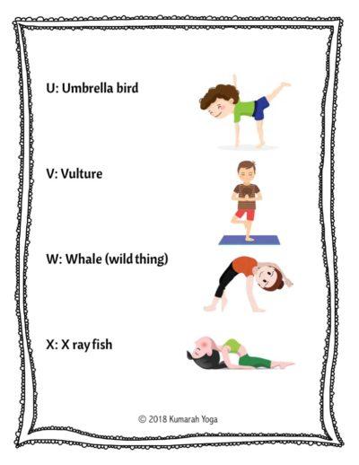 Animal Yoga ABCs 6