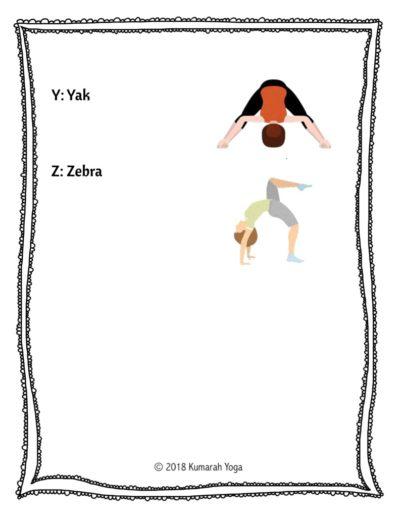 Animal Yoga ABCs 7