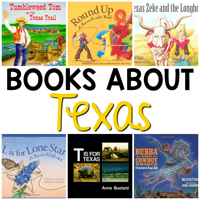 Books About Texas for Kids